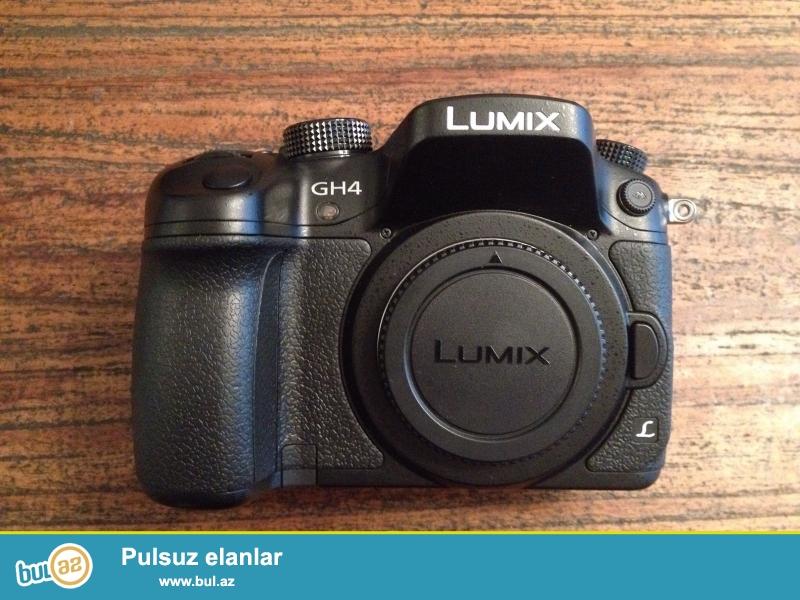 Panasonic Lumix DMC-GH4<br /> <br /> Xoşbəxt müştərilərin xoşbəxt cəmiyyət edir...
