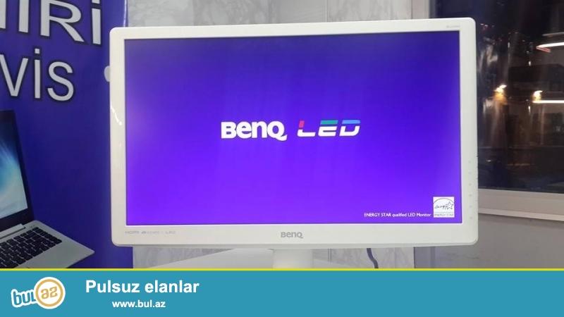 BENQ 22 led monitor teze 120 azn<br /> Elaqe tel 070 273 05 05<br /> ela veziyyetdedi