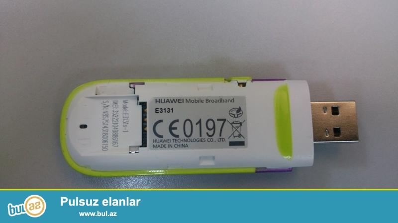 Datakart. Azərcell. HUAWEL. Model: E3131s-1 Çox az işlənib.