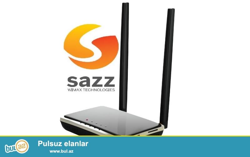 SAZZ ən güclü modem ZTE İ380 + WIFI + LAN portlar<br /> <br /> Güclü antenaların və qəbuledici tezlıklərin dəyışdirilməsi imkanı hesabına SAZZ-ın özündə satılan və bu modemnən daha olan modemlərdən sürətlı işləyir və zəyif siqnal olan herdə belə işləyir !! <br /> <br /> WIFI-yı var və LAN portları var...