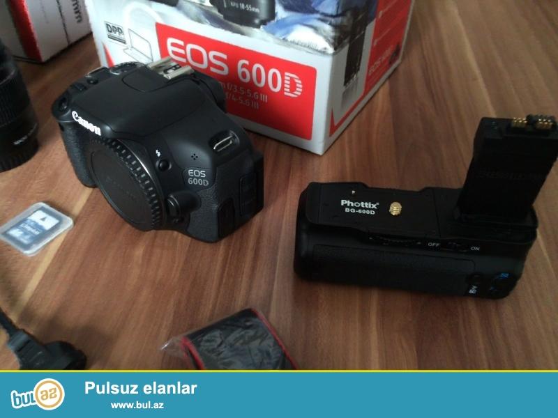 Canon EOS 600D 18-55II 55-250 II Kit<br /> <br /> (Əlaqə məlumatı)<br /> <br /> https://www...