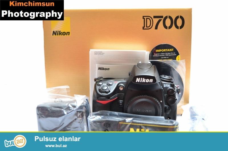 Nikon D700 SLR Kit 24-120mm Lens<br /> <br /> Xoşbəxt müştərilərin xoşbəxt cəmiyyət edir...