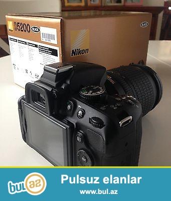 Nikon D5200 SLR 18-105mm Lens<br /> <br /> Xoşbəxt müştərilərin xoşbəxt cəmiyyət edir...