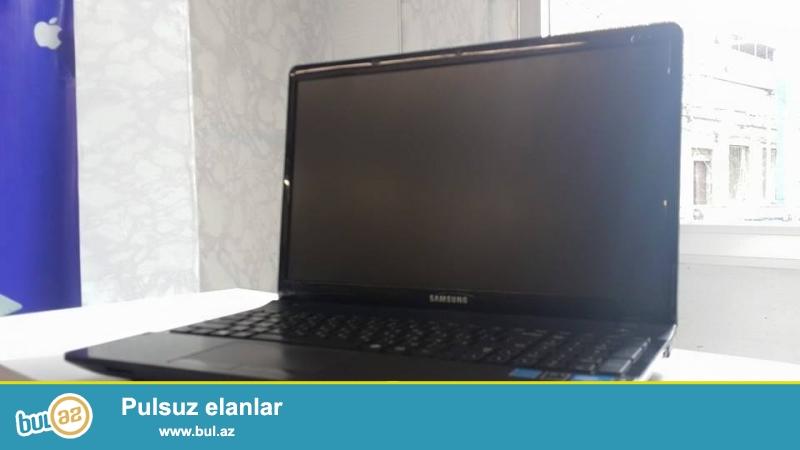 Samsung Notbuk Satilir ela isleyir 170 azn<br /> Elaqe tal 070 273 05 05<br /> Intel pentium processor<br /> Ram 2 gb<br /> Yaddas 320 gb<br /> Vga intel 1 gb<br /> Usb 2 var<br /> Usb 3 var<br /> Wep kamera var