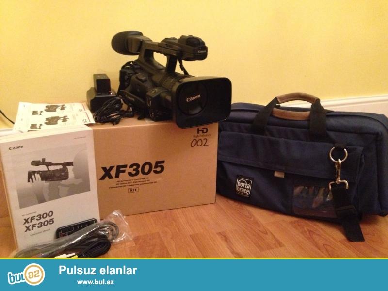 Canon XF305 Professional PAL Camcorder<br /> <br /> (Əlaqə məlumatı)<br /> <br /> https://www...