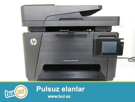 HP printer lazerli 6 ay qarantiya tezedi hec islenmeyib her bir senedide var  magaza qiymetinden asagi
