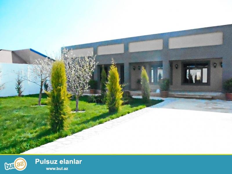**РУФАТ*АЙНУР** ВПЕРВЫЕ на рынке!Продается новопостроенная дача-дом в Мардакане, возле переезда,  в престижном месте, 5 сот приватизированной земли, 1но этажный дом, 120 кв...