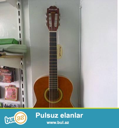 Gitara Satilir Klassik .. Qehveyi Rengde ..<br />  Masterwork ^^<br />  Gitaranin 4cu Simi Qirilib ...