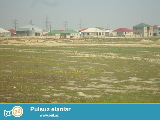 SADAY Sabunçu rayonu Zabrat 1 qəsəbəsi Badamlıq deyilən ərazidə tam yaşayış sahəsində 40 sot torpaq sahəsi satılır...