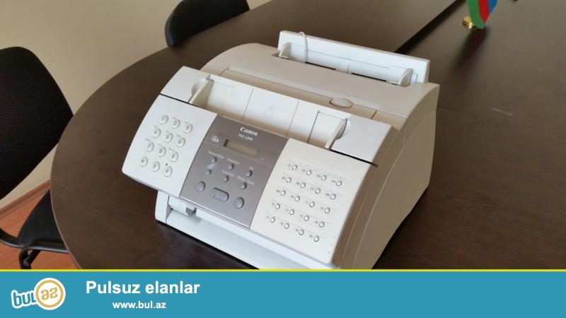 Tecili Fax L240 satılır.İşlək vəziyyətdədir heç bir problemi yoxdur, katricdə üzərində verilir.