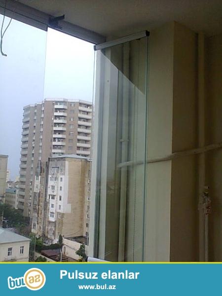Cam balkon sifarişi 1 kv.m-120man.10 mm temper şüşə və türk profil və aksesuarlarından istfadə olunur...