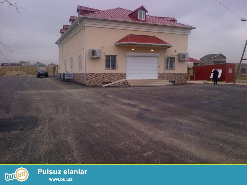 Abseron rayonu erazisinde, Novxani yolu istiqametinde esas yolun qiraginda tam temirli 140 kv...