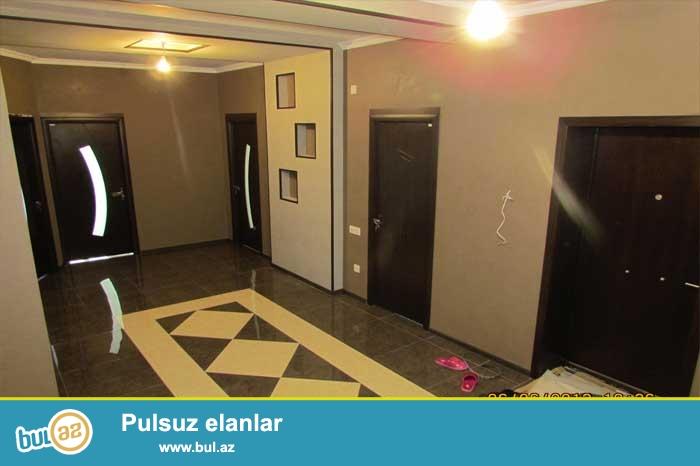 """Очень срочно в Тбилийском проспекте на """"МТК ILIN DORD FESLI"""" продается 4-ех комнатная квартира с евро ремонтом..."""