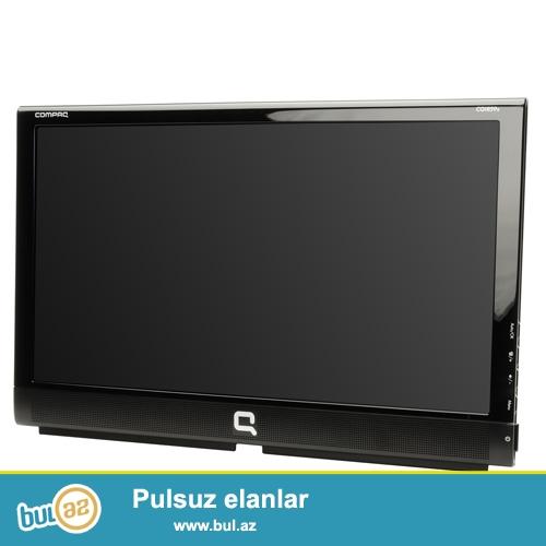 Monitor LCD , yaxsi veziyyetdedi VGA kabel, power kabel.