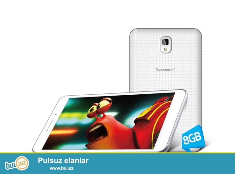 YENİ.ORİGUNAL HD SANEİ G695 1GB RAM 2 NÖMRƏLİ 3G 4 NÜVƏLİ 8GB<br /> Brand Sanei<br /> Model G695<br /> Ekran ölçüsü 6...