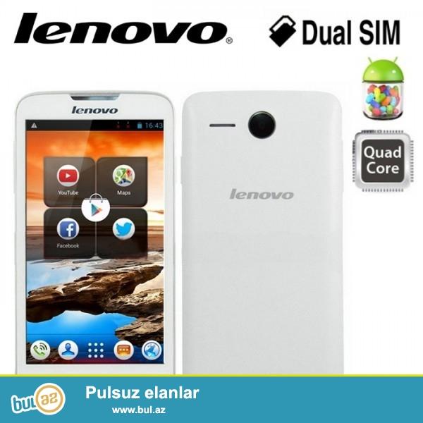 """Lenovo A680 (yeni)  <br /> <br /> <br /> Olchusu : 145x74x11 mm<br /> <br /> Chekisi : 165q<br /> <br /> Kamera  : 5mp<br /> <br /> Wi-Fi   : var<br /> <br /> Blutuz  : var<br /> <br /> Ekran   : 5""""<br /> <br /> Prosessor : MediaTek MT6582<br /> <br /> Tel 050 227 27 55<br /> <br /> Ram     : 512 mb<br /> <br /> Yaddash : 4gb<br /> <br /> OS      : Android 4..."""