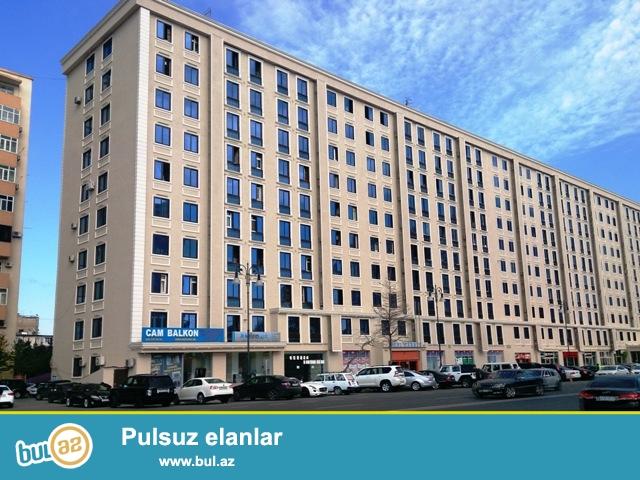 """Nərimaov rayonu, """"Abu Petrol"""" ilə üzbəüz, eksperimental layihəli binada 3 otaqlı mənzil kirayə verilir..."""
