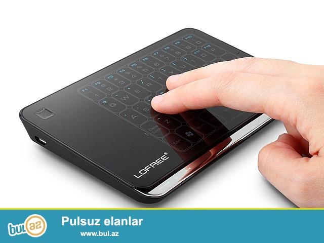 Shunursuz  Klaviatura Mishka touchpad (lofree mt-200) <br /> <br /> Yeni!<br /> <br /> 10 metr mesafeden ishleyir...