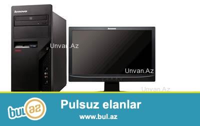 Masaustu komputer satilir!! Parametrler: RAM 4096 MB (4 GB), VGA 1759 MB (1 GB) HDD 320 GB, MONITOR 17 Ekran (LG), Klavyatura, Maus...