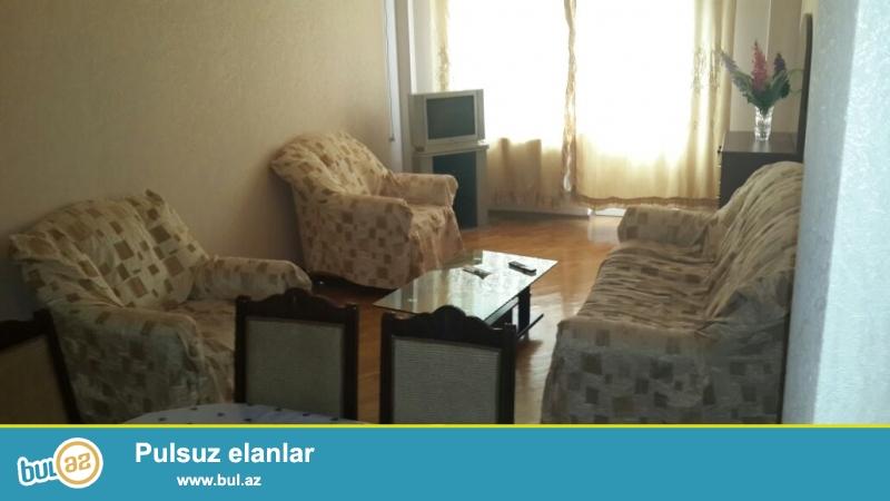 Новостройка! Cдается 3-х комнатная квартира в центре города, около метро Низами...