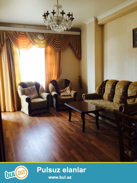 """Новостройка! Cдается 2-х комнатная квартира в центре города,по проспекту Матбуат, рядом с """"Baku Mall""""..."""