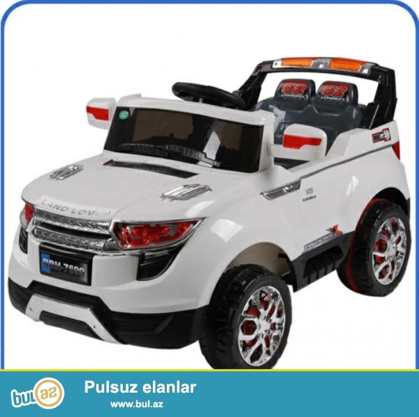 Ushaqlar ucun yeni model park mashini Range rover.<br /> Iki motor,iki okumlyator...