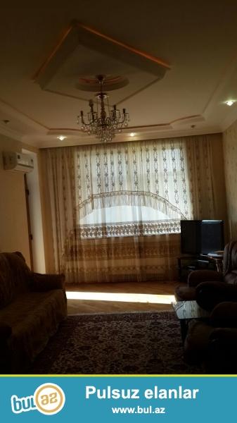Новостройка! Cдается 3-х комнатная квартира в центре города,по проспекту Азадлыг, рядом с Американским посольством...