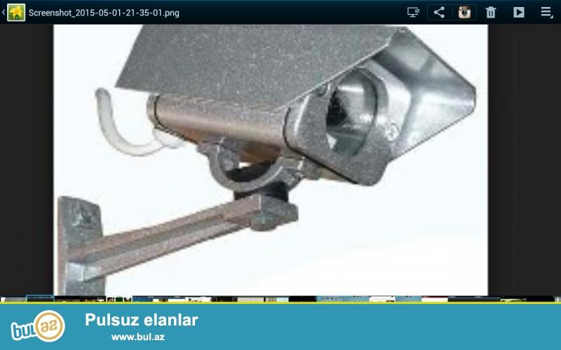 Təhlükəsizlik kameralarının    evlərə,  villalara,obyrktlərə və s...