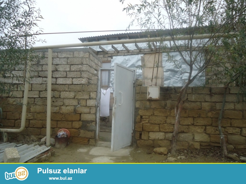 Allahverdi Zabratda 198 nömrəli marşurutun axırıncı astanovkasına yaxın,1 sot torpağ sahəsində ,6 daş kürsüdə 2 otağlı ev təcili olaraq satılır...