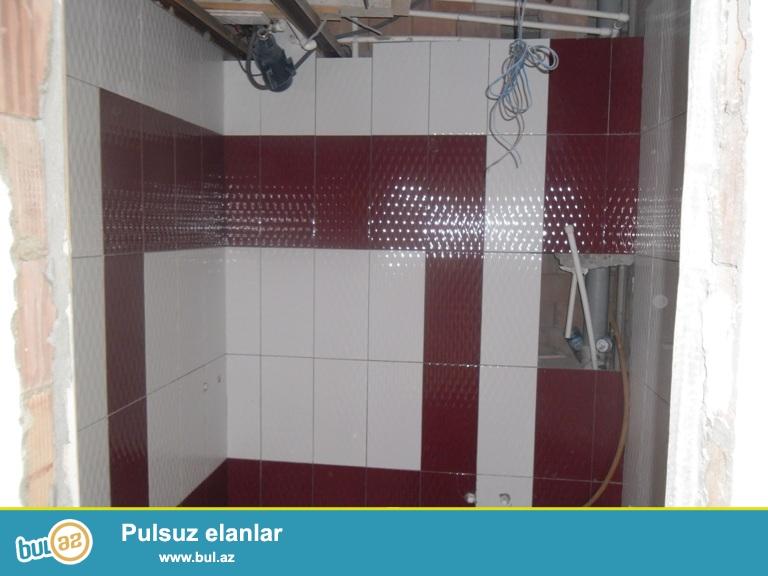 Yeni  Yasamalda 2otaqa duzelmis  yari temirli (elektrik,santenik, alciban, maiyarka isleri gorulub)  haman tualet tam hazirdi...