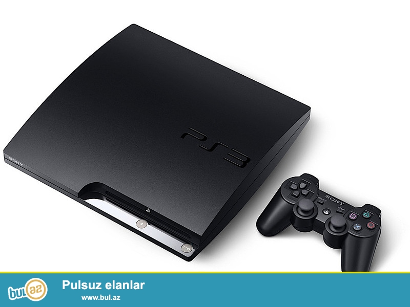 Playstation 3 прошивка olunub, 2 ay işlətmişəm, əla vəziyyətdədir, 2 ədəd pultla satılır, yaddaşında oyunlar var