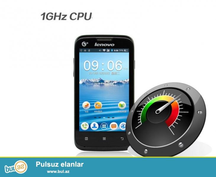 Lenovo A300T  YENI  <br /> <br /> Emeliyyat sistemi: Android OS, v2.3 <br /> <br /> Displey: 480 x 800 pixels, 4 inches<br /> <br /> Kamera: 2 MP<br /> <br /> Daxili yaddas: 512 MB <br /> <br /> RAM: 256MB<br /> <br /> Olculer: 143 x 74...