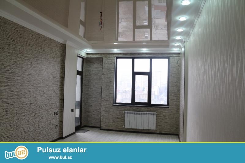 KUPÇALI YENİ TİKİLİ!!!  Nəsimi rayonu, Caspian Plaza yaxınlığında 7/18 ümumi sahəsi 95 kv...