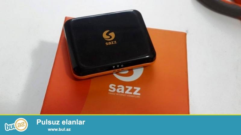 Sazz wifi modem satiram 119 azn<br /> Elaqe Tel 070 273 05 05<br /> Bu balaca modem cib modemi olaraq bilinir<br /> Zaryatqa saxlayir istediyinde pramoyda isdifade etmek olur<br /> Bunlardan dukanlarda satisda yoxdu artiq yalniz mende