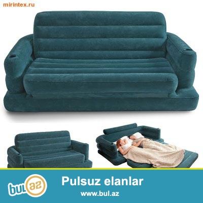Надувной диван-трансформер...