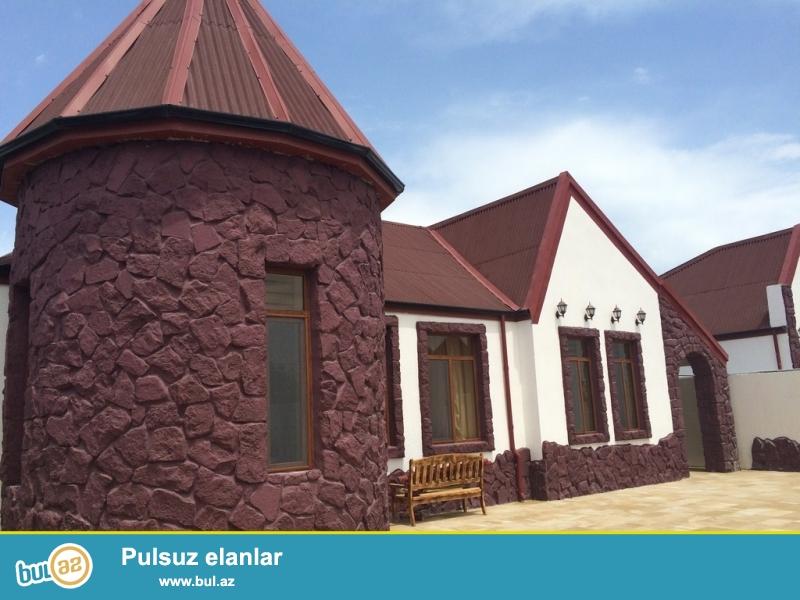 Очень срочно! В поселке Шувалан - Грес,  рядом с зияретгах , продается 4-х комнатный частный дом , расположенный на 10 сотках земли , площадь 180 квадрат , с евро ремонтом...