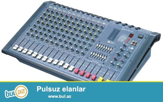 Show, Max ve Pro-sound firmalarina mexsus usiliteller...