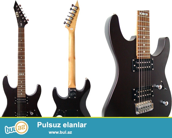 Mehşur ESP firmasına məxsus LTD m-50 modeli.<br />\r\n<br />\r\n* The M50 BLKS has a Basswood Body with a Maple Neck and a Rosewood Fingerboard<br />\r\n* The guitar comes equipped with a Vintage Tremelo Bridge<br />\r\nIt has a Bolt-On Neck with a 25...