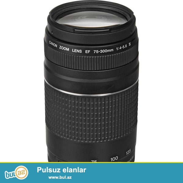 Az işlənmiş Canon 600D 18-55mm+cox az işlənmiş Canon EF 75-300mm f/4-5...