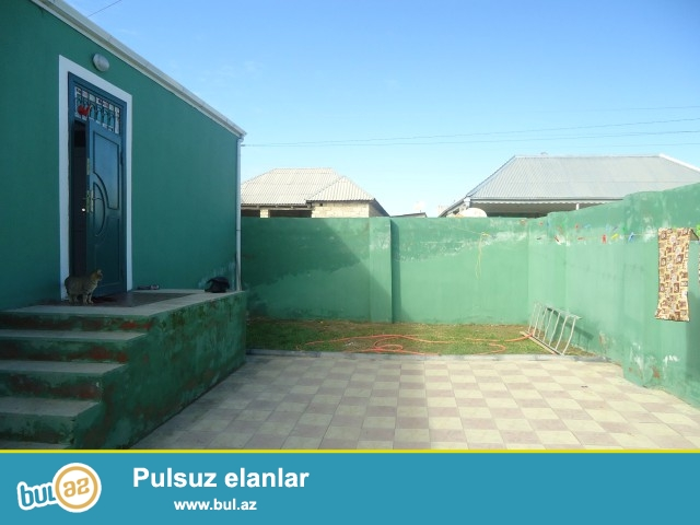 Niyaməddin (ELÇİN) Sabunçu rayonu, Zabrat 1 qəsəbəsi, polklinikaya yaxın ərazidə,əsas yoldan 10 metr məsafədə 2...
