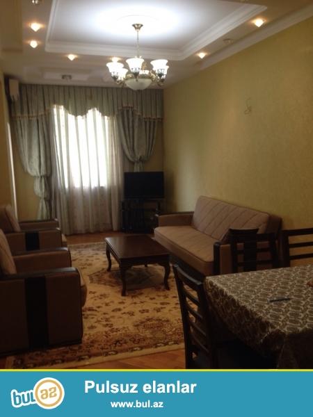 """Новостройка! Cдается 3-х комнатная квартира в центре города,по проспекту Азадлыг, рядом с """"Олимпик Стар""""..."""