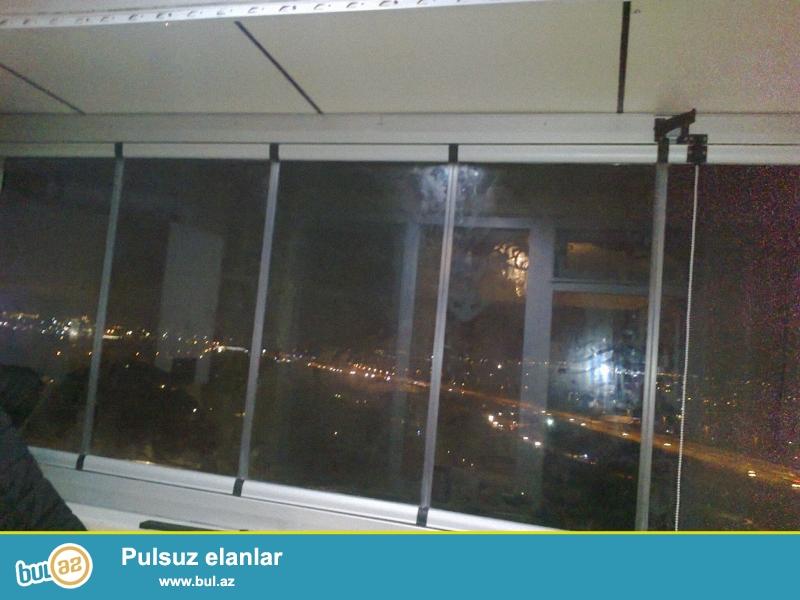 Cam balkon sexi 1 kv.m-120man.Çatdırılma və quraşdırılma pulsuz...
