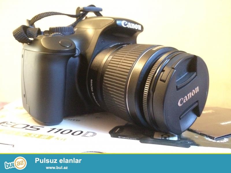 Canon1100d satilir ev aparatidi az isdenib her biri seyi var...