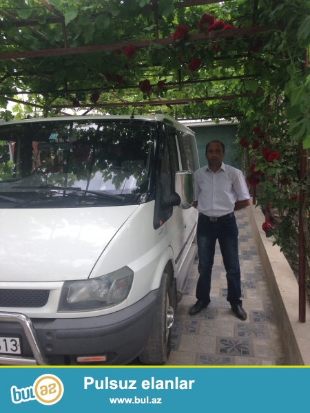 şəxsi yeni model ford 8+1 tranzit markalı avtomobilim var...