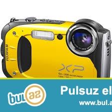 Fotoaparatın qutusu və sənədi var.Suya və zərbəyə davamlı fotoaparatdır...