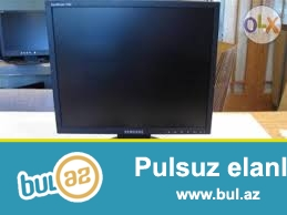 """Satılır Samsung monitor 17""""-düyüm. Təzə, işlənməmiş..."""
