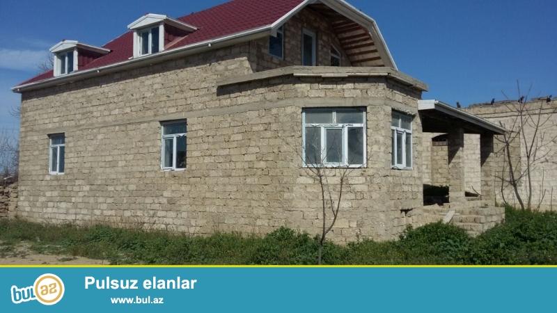 Təcili 2 sotun içində 120 kvadrat metr sahədə həyət evi satılır...
