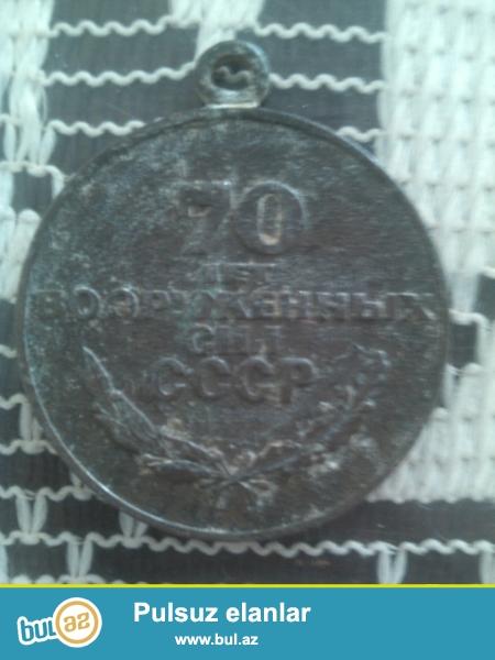 CCCP nin dovrunden qalma medal 1918-1988 ci illere aiddi qiymeti razilawma yolu ile...
