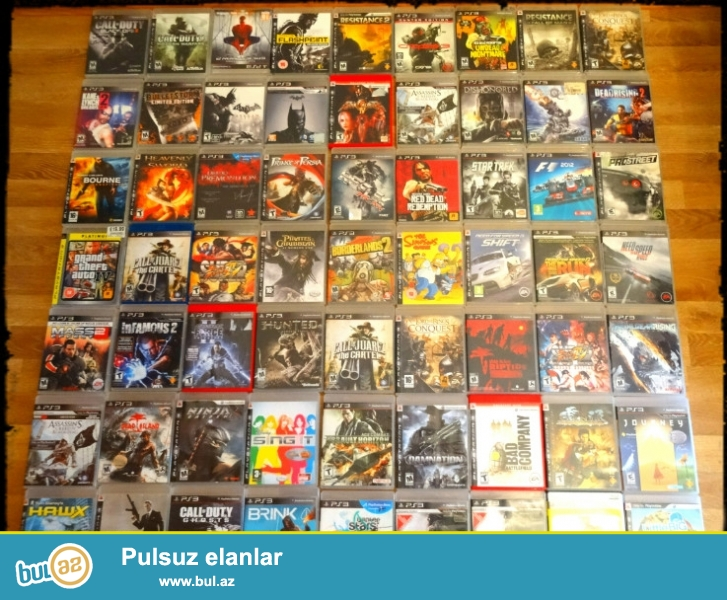 Playstation3   oyun   diskləri   satılır.Disklər  hamısı originaldı  kitabcası  da  var...