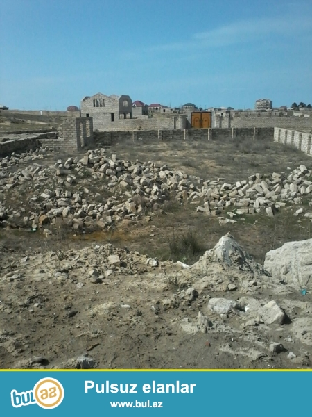 Срочно!!В Сабунчинском районе,в поселке Курдаханы около дороги продается земельный участок...